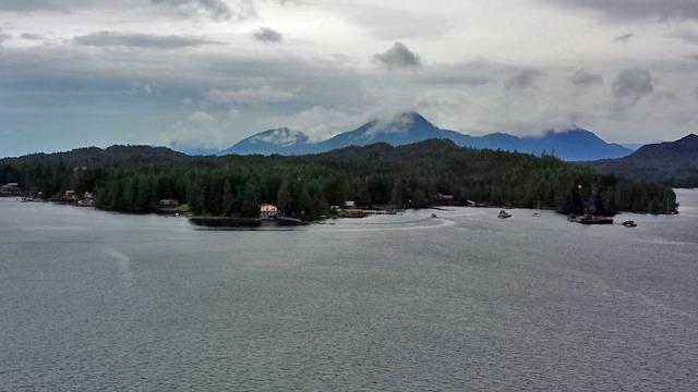 Ketchikan in the Inside Passage of Alaska