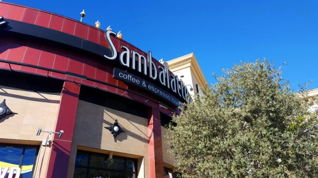 Sambalatte Coffee on the Las Vegas Strip