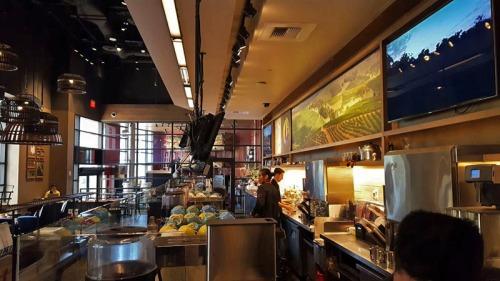 Sambalatte Torrefazione Coffee on the Las Vegas Strip