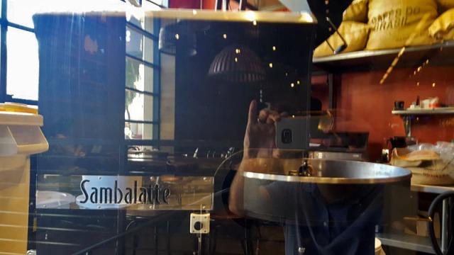 Sambalatte coffee roaster on the Las Vegas Strip