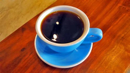 Sambalatte pour over coffee on the Las Vegas Strip