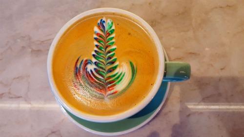 Sambalatte Rainbow Latte, Las Vegas, Nevada