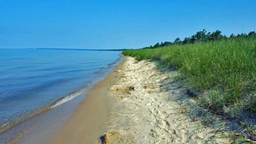 U.S. Route 2, Lake Michigan shoreline - Upper Peninsula, Michigan