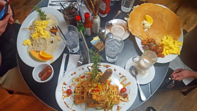 Hash House A Go Go - Las Vegas strip,  breakfast