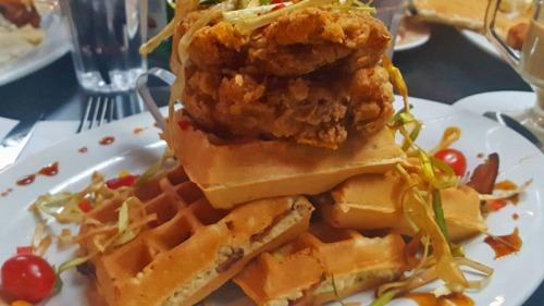 Hash House A Go Go - Las Vegas strip,  chicken & waffles