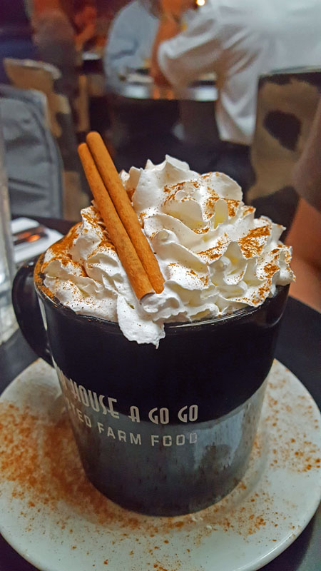 Hash House A Go Go - Las Vegas strip, specialty coffee