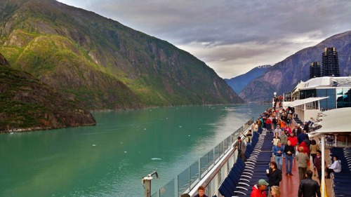 Sawyer Glacier, Tracy Arm Fjord on an Alaska Cruise, Celebrity Solstice