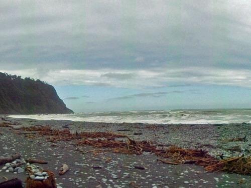 Okanto Beach along the West Coast - Favorite New Zealand Beach shots