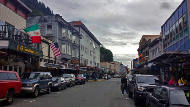 Juneau, Alaska skyline and cityscape