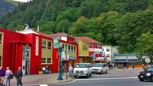 Juneau, Alaska skyline and cityscape