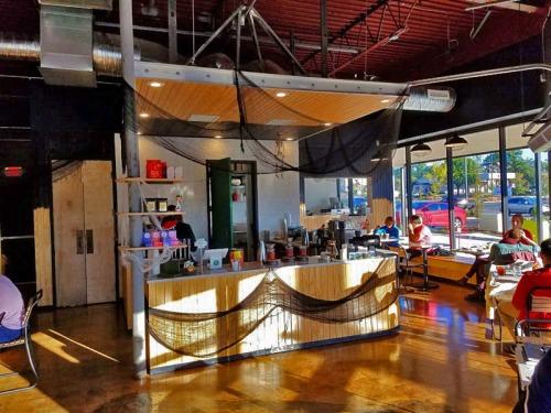 Spiller Park Coffee, craft coffee shop in Atlanta, Georgia
