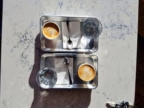 Spiller Park Coffee, latte, Atlanta