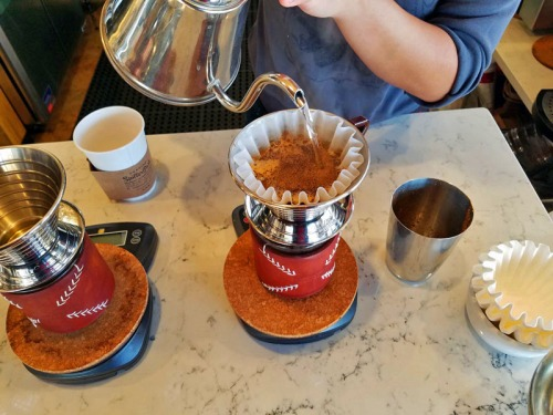 Spiller Park Coffee, pour over coffee - Atlanta, Georgia