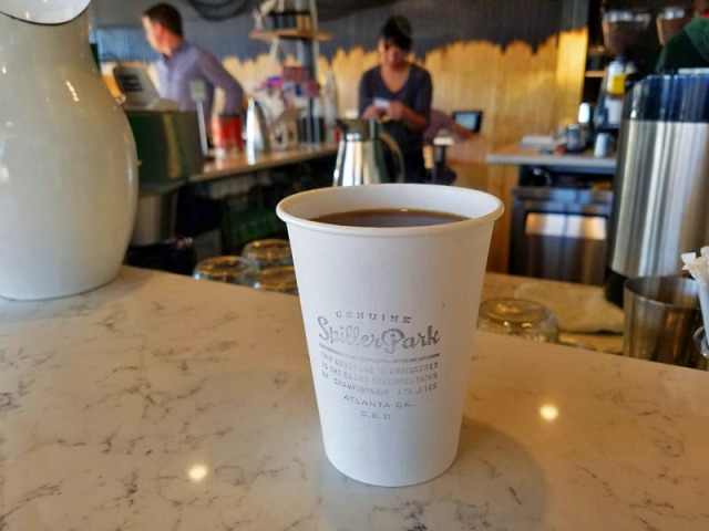 Spiller Park Coffee, pour over coffee - Atlanta, Georgia