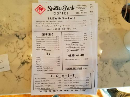 Spiller Park Coffee - Atlanta, Georgia