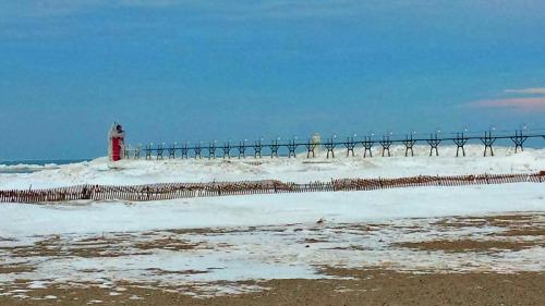 South Haven beach, Lake Michigan