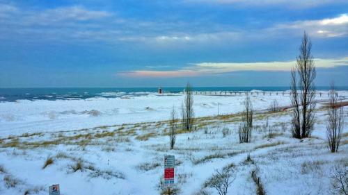 Lake Michigan from South Haven, Michigan