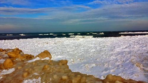 New Buffalo Public Beach in Michigan