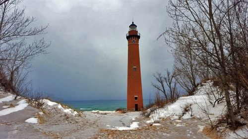 Little Sable Point Lighthouse near Mears, Michigan
