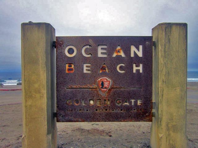 San Francisco Ocean Beach, California, beach