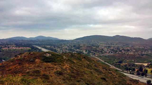 San Diego California hiking, Battle Mountain, Rancho Bernardo