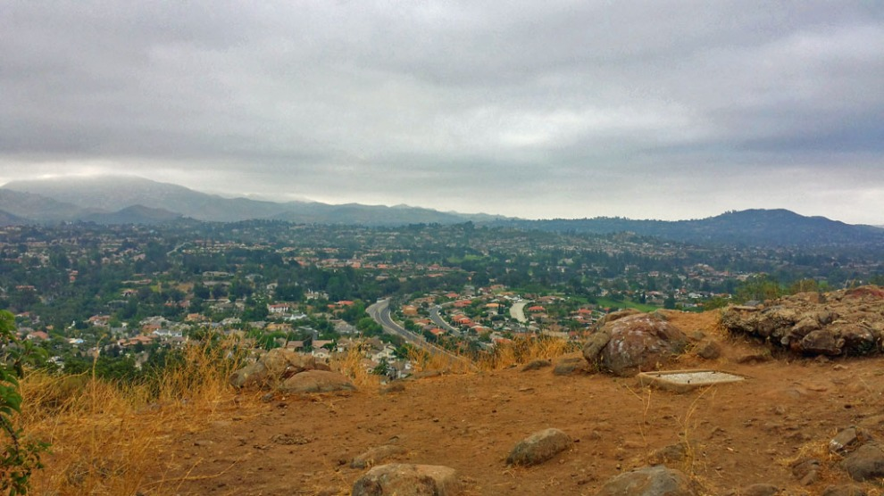 San Diego hiking, California, Battle Mountain, Rancho Bernardo