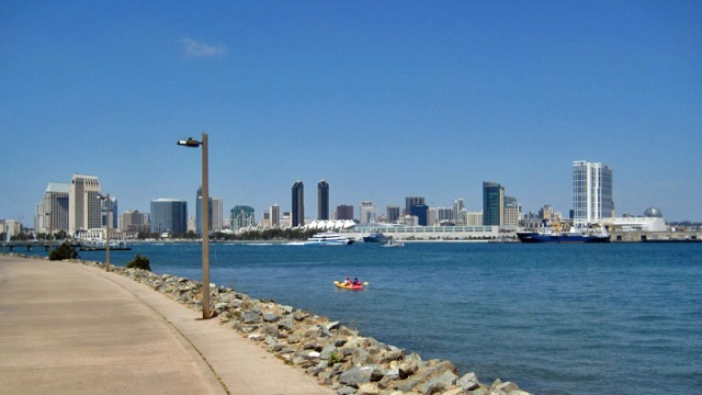 San Diego: A Million Skyline Looks from across San Diego Bay