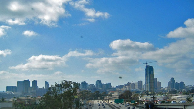 San Diego: A Million Skyline Looks, California