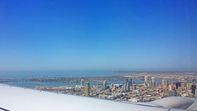 San Diego: A Million Skyline Looks, from the friendly skies