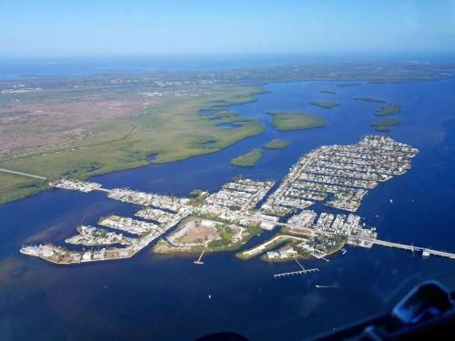 Matlacha, Florida, Pine Island beyond