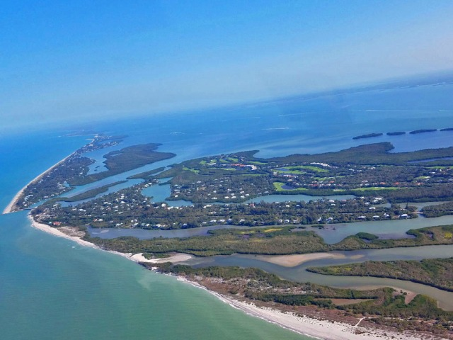 Northern part of Sanbiel Island, Florida.