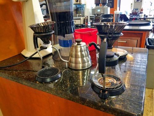 Rebel Coffee Roastery & Tea Lounge, pour over coffee