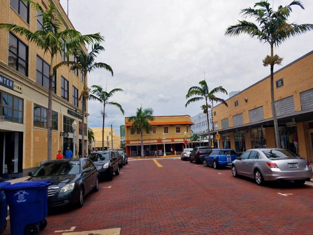 Downtown Ft. Myers, Florida