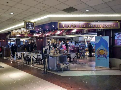 Atlanta coffee at Cafe Intermezzo, Concourse B, Hartsfield-Jackson Atlanta International airport