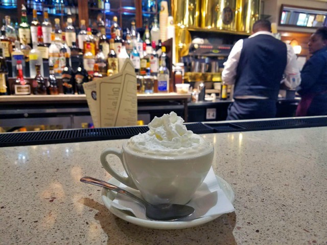 Cafe Intermezzo, Concourse B, Atlanta airport - Irish coffee