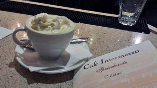 Cafe Intermezzo, Concourse B, Atlanta airport, Irish coffee with Jameson whiskey