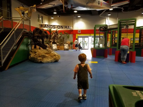 Kid travel. My little man and his first hands-on museum in Florida.