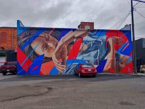 Detroit Eastern Market Mural Walk - Murals in the Market Festival 2018