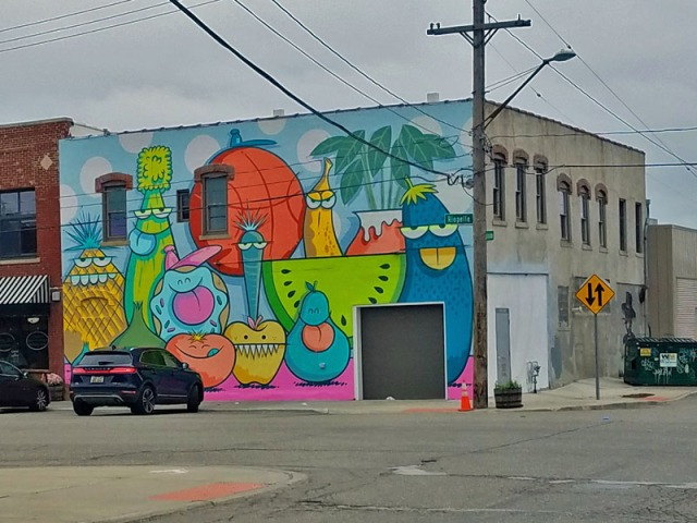 Detroit Eastern Market Mural Walk - Murals in the Market Festival 2018