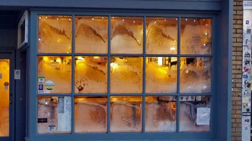 Ann Arbor Polar Vortex 2019 - Roos Roast coffee shop