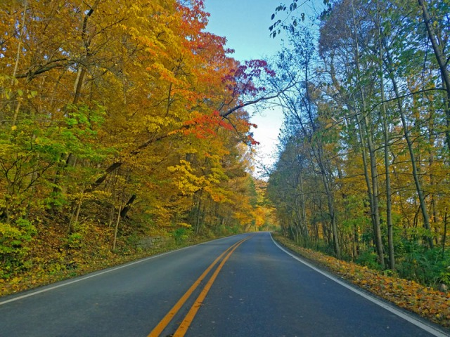 Autumn Road trip in Ann Arbor, Michigan