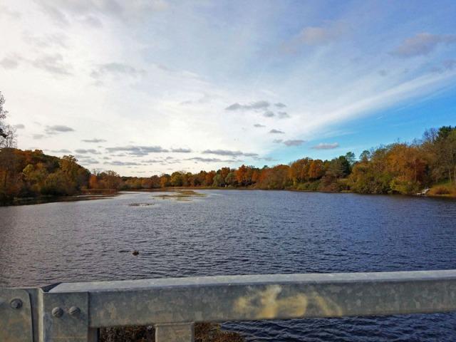 Fall In Ann Arbor along Huron River